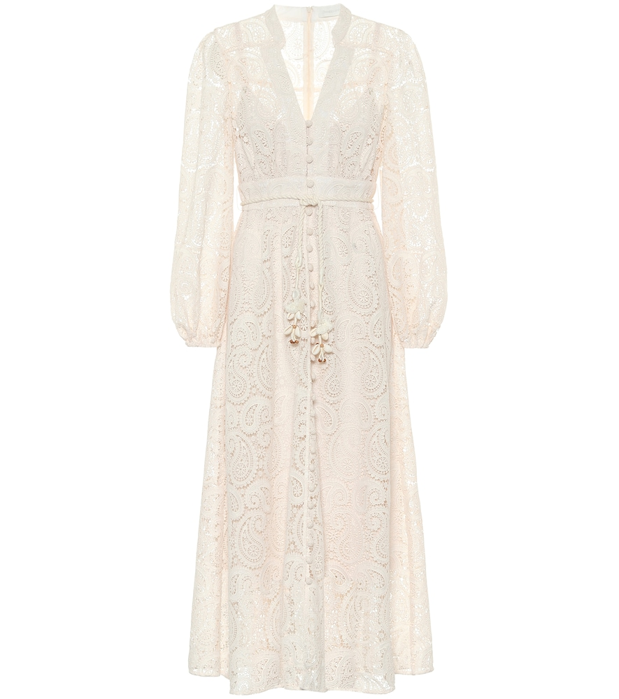 Exclusive to Mytheresa - Lace midi dress