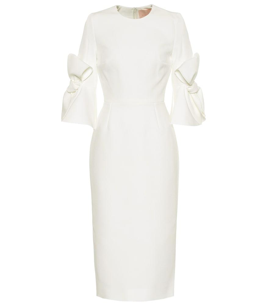 ROKSANDA | Lavete bonded crêpe dress | Goxip