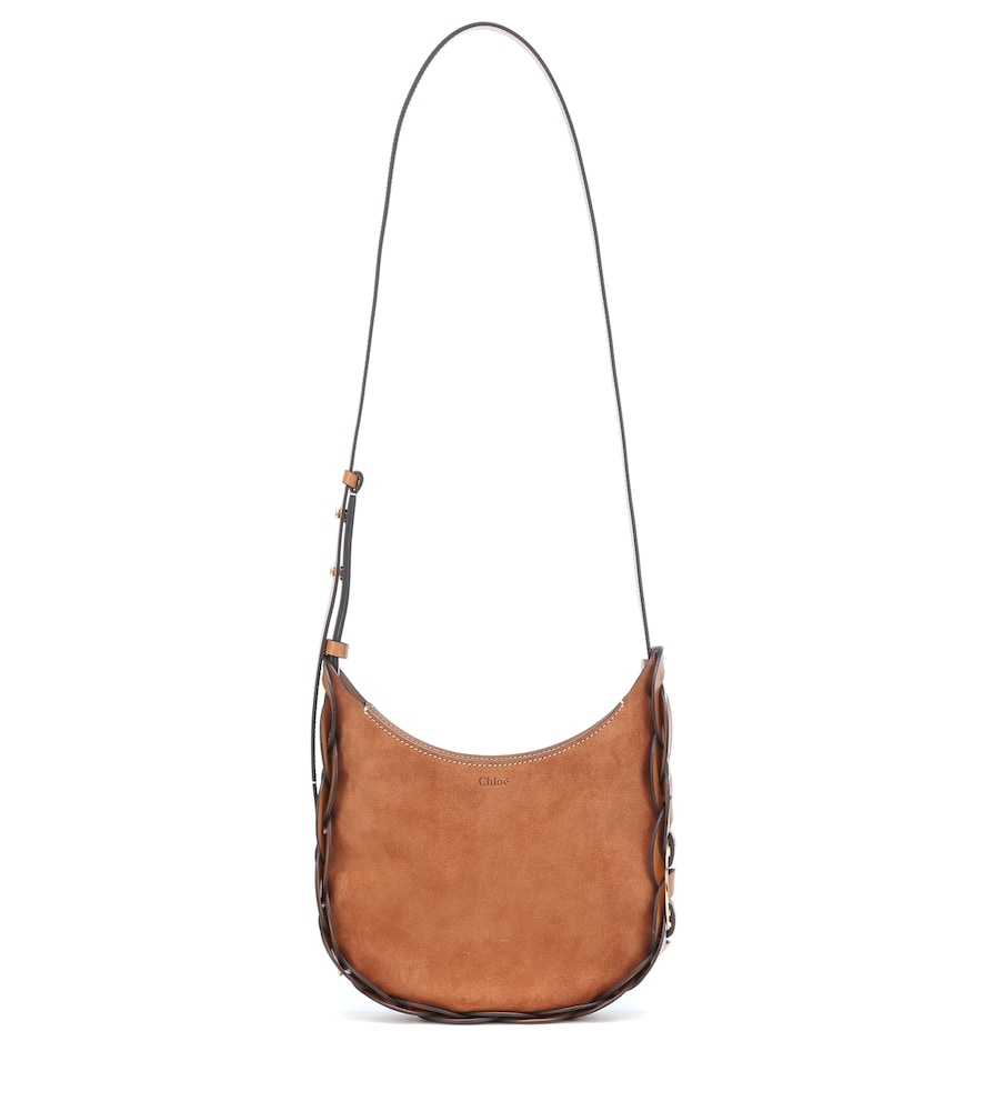 Chloé DARRYL SMALL SUEDE SHOULDER BAG