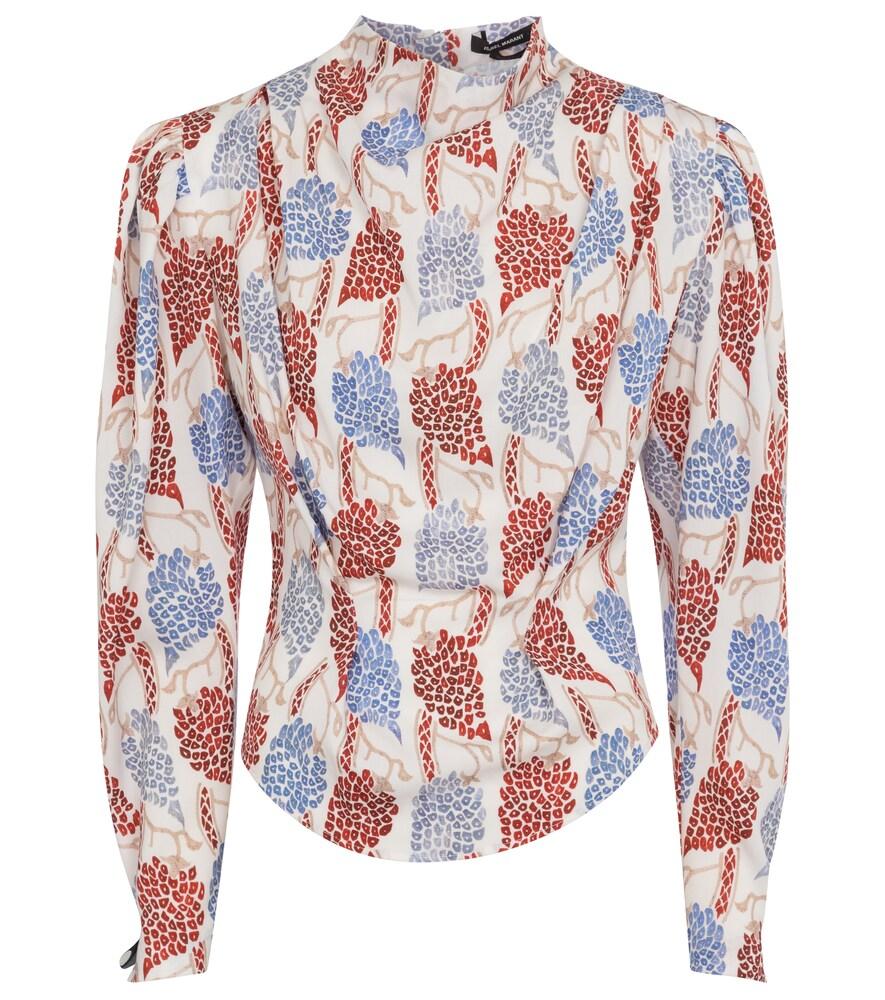 Isabel Marant Bayani printed blouse