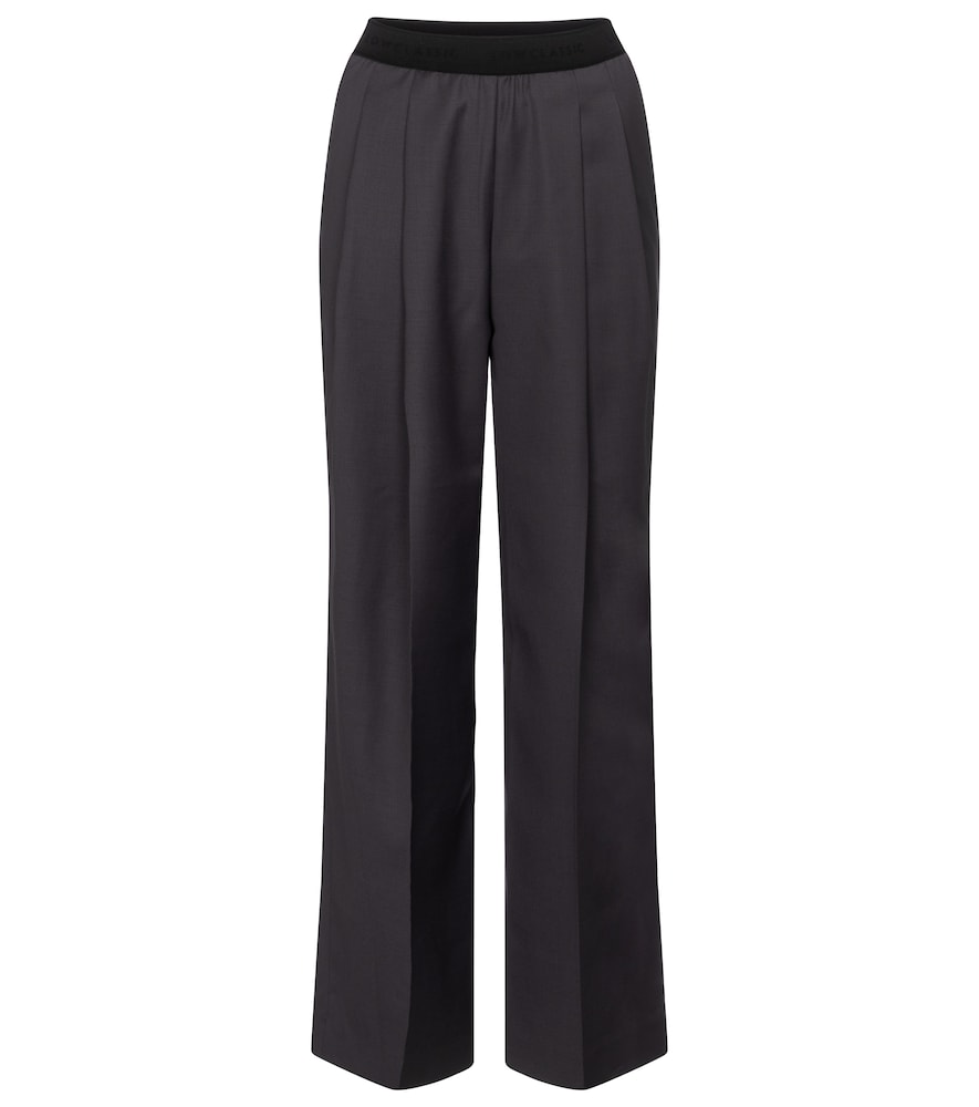 Low Classic Wools HIGH-RISE WOOL-BLEND STRAIGHT PANTS