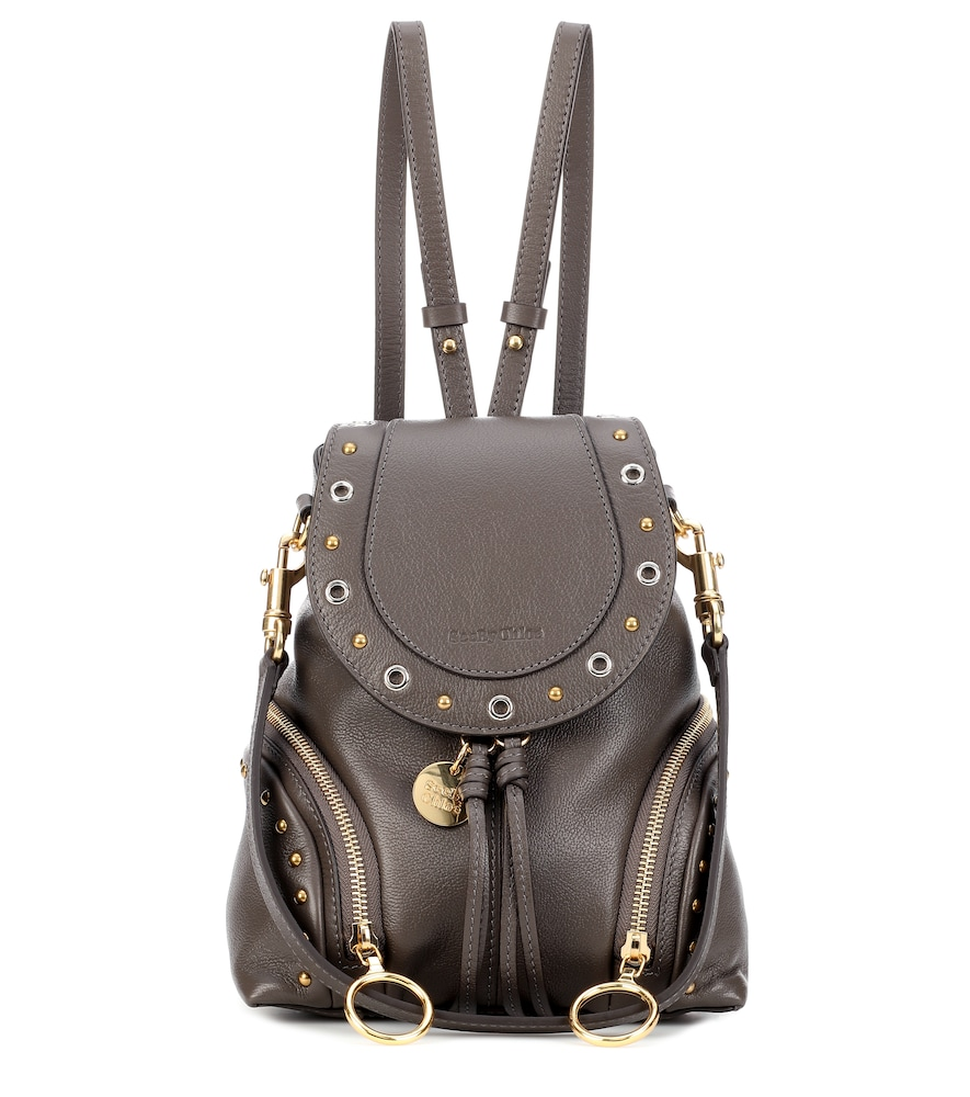 OLGA SMALL LEATHER BACKPACK