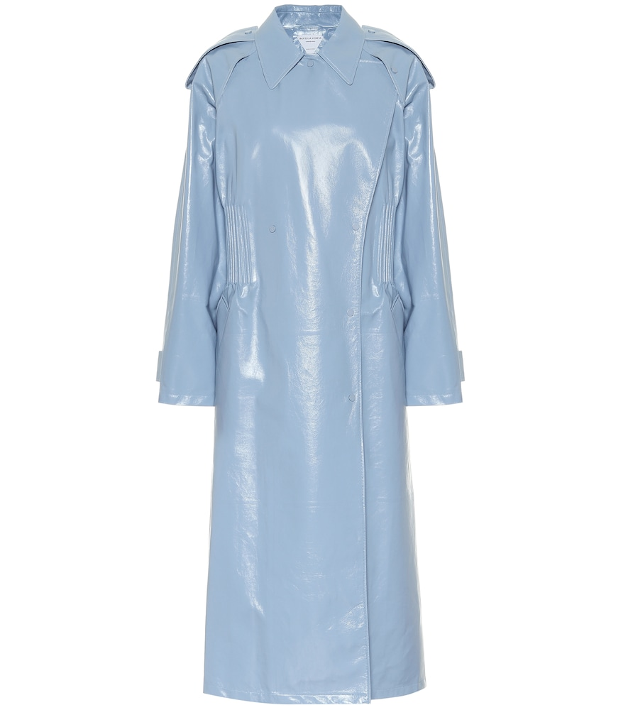 Manteau en cuir - Bottega Veneta - Modalova
