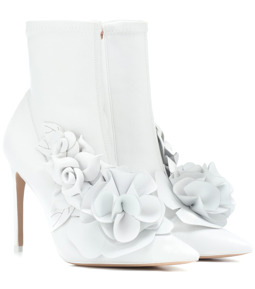 Exclusive To Mytheresa - Jumbo Lilico Leather Ankle Boots, White