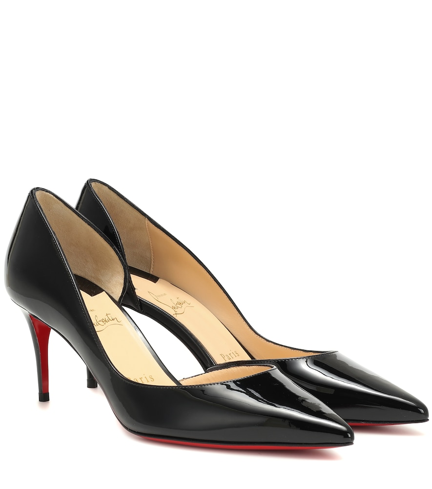 best service 88d02 c6969 Iriza 70 Patent Leather D'Orsay Pumps in Black