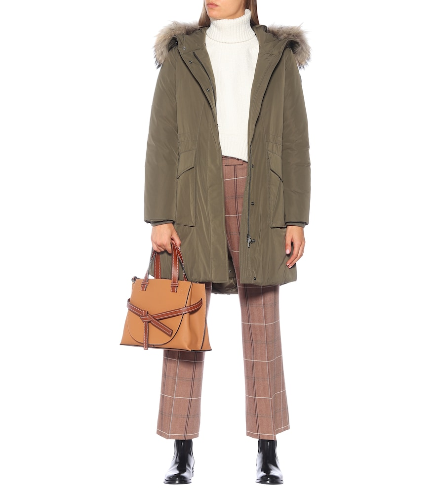 W's York down parka by Woolrich