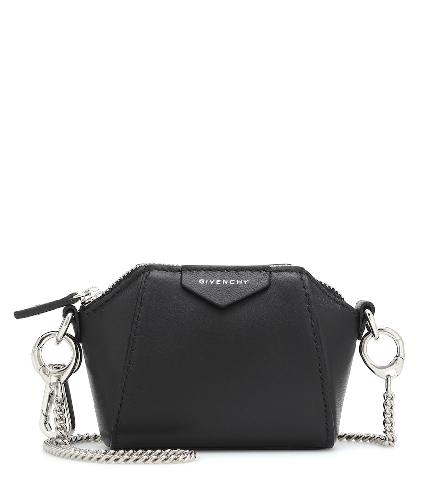 Antigona Baby leather crossbody bag