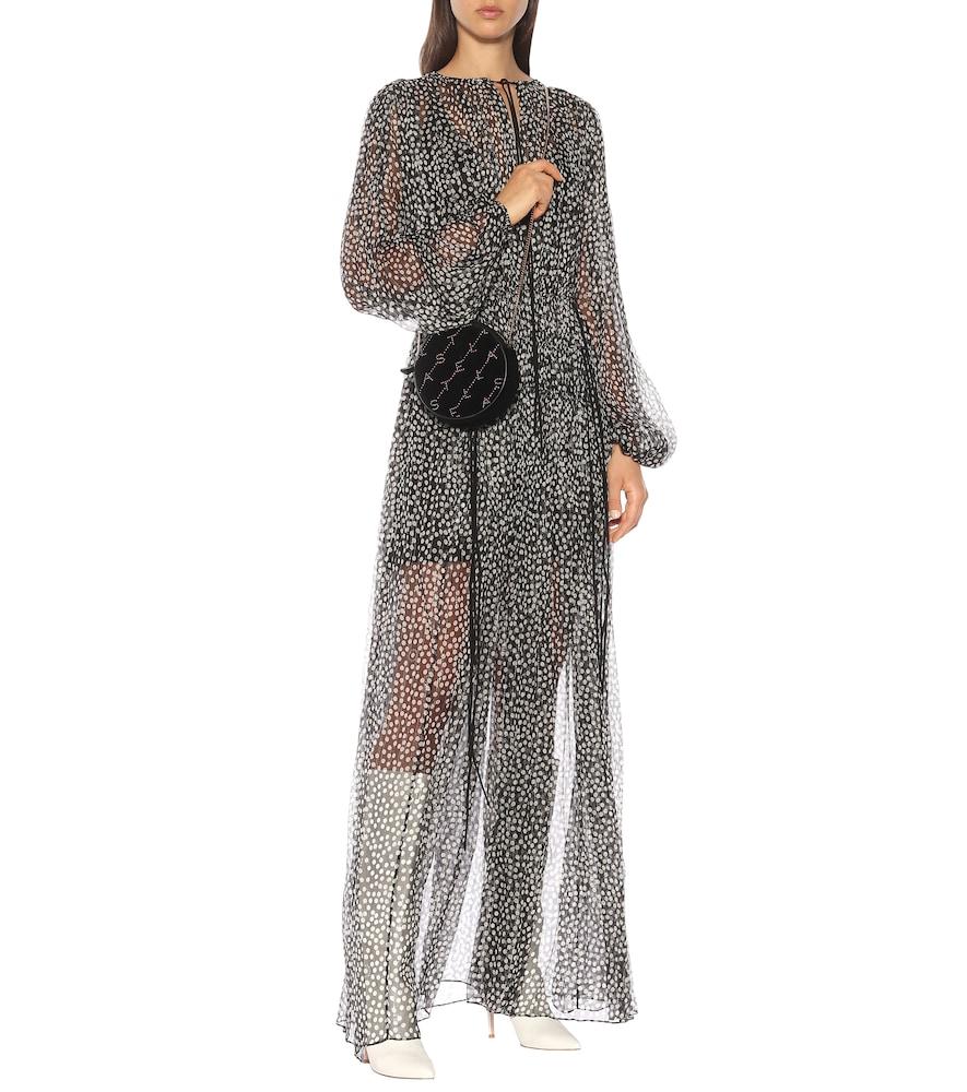 Silk and metallic maxi dress by Stella McCartney