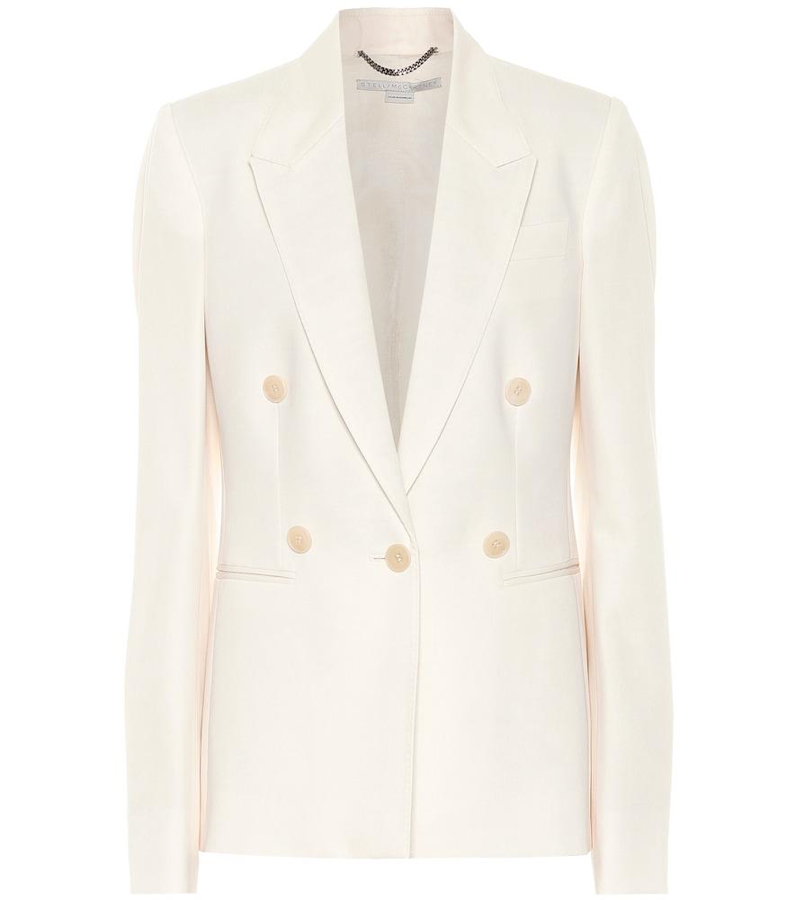 Wool-cr?e blazer by Stella McCartney