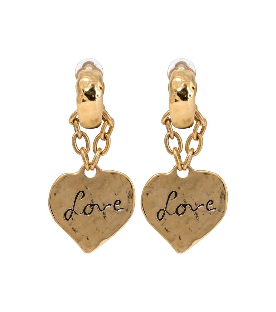 Saint Laurent Earrings LOVE CLIP-ON EARRINGS