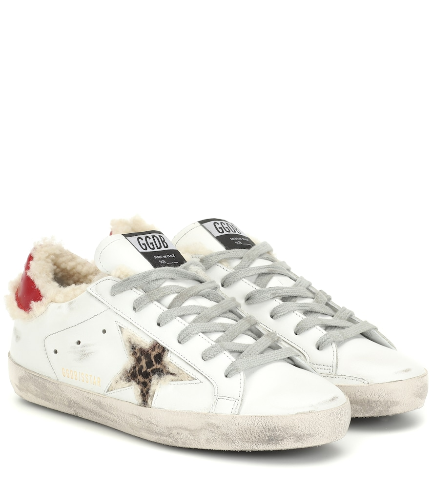 Superstar shearling-lined sneakers