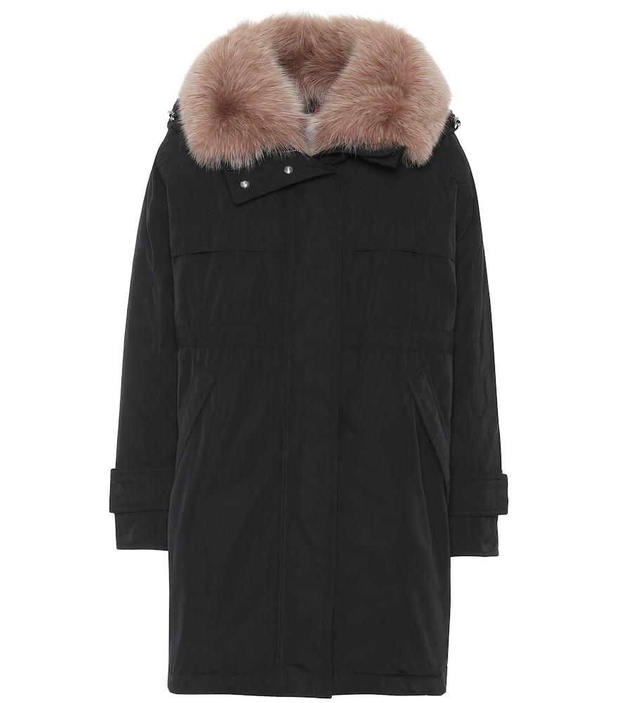 Manteau matelassé Lagopede à capuche - Moncler - Modalova