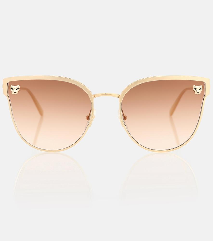 Panthère de Cartier cat-eye sunglasses