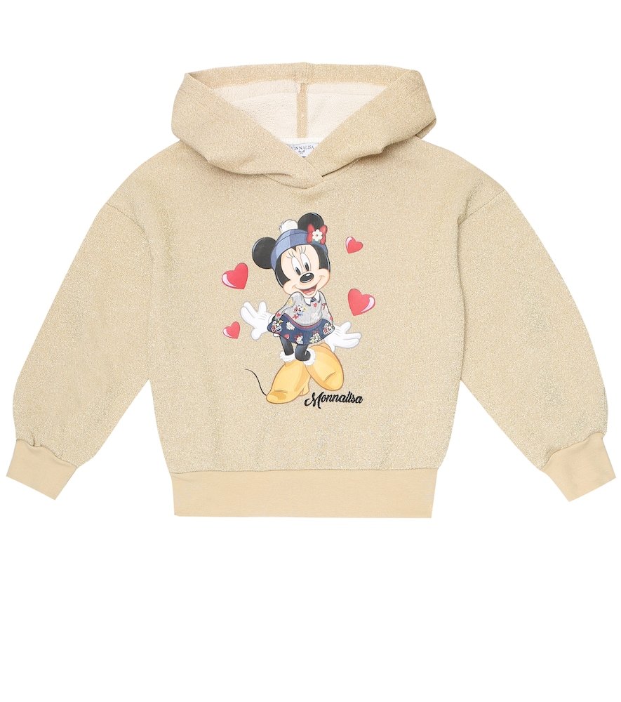 Monnalisa Cottons X DISNEY® COTTON BLEND HOODIE
