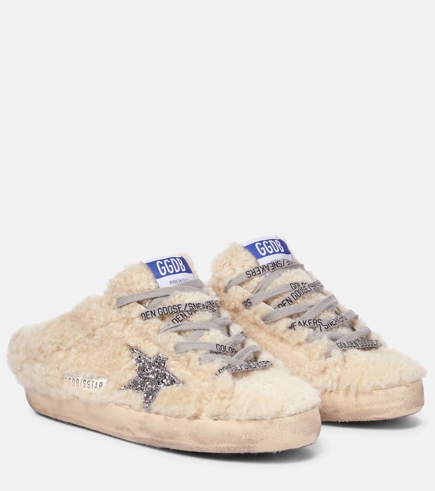 Superstar shearling sneakers