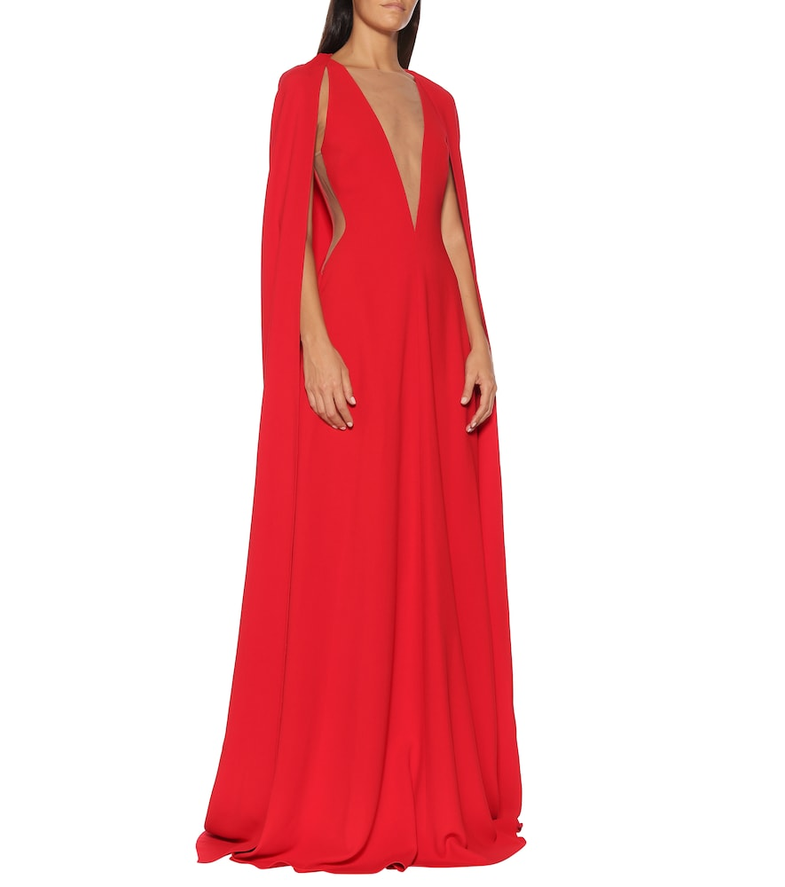Cr?e gown by Stella McCartney