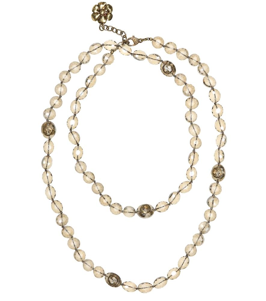 Collier à perles de verre - Gucci - Modalova