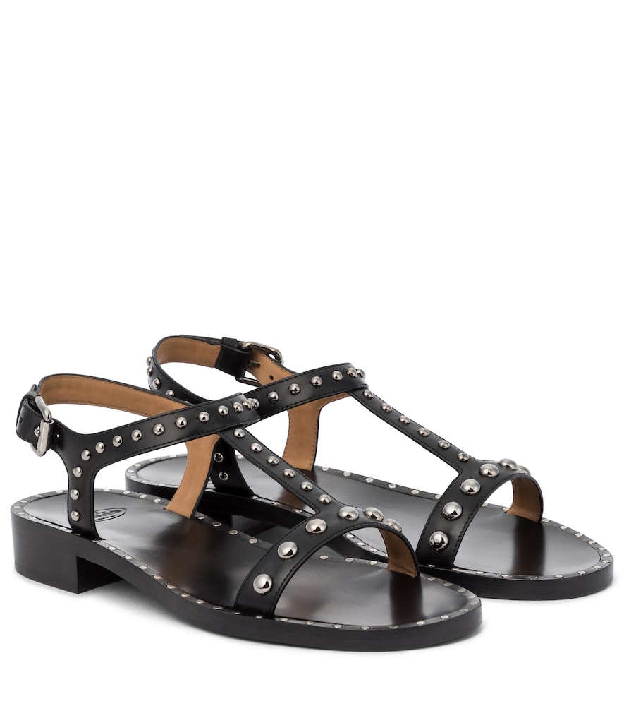 Church's Leathers ELLY MET EMBELLISHED LEATHER SANDALS