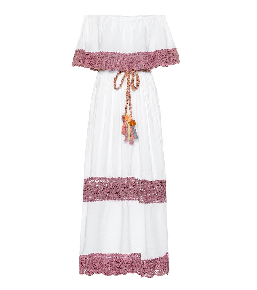 Robe longue Casablanca en coton