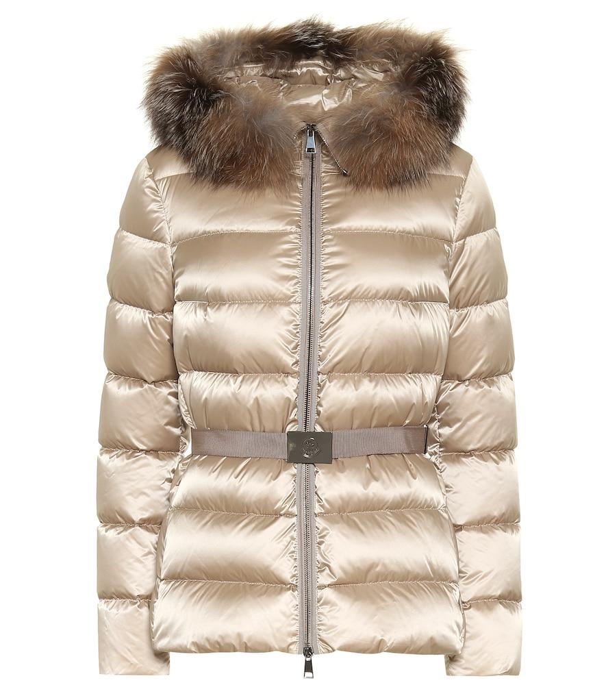 Tatie fur-trimmed down jacket