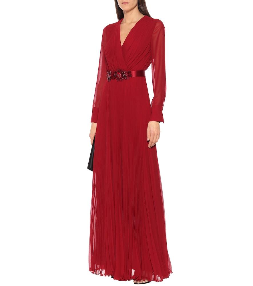 Genarca georgette sabl?dress by Max Mara