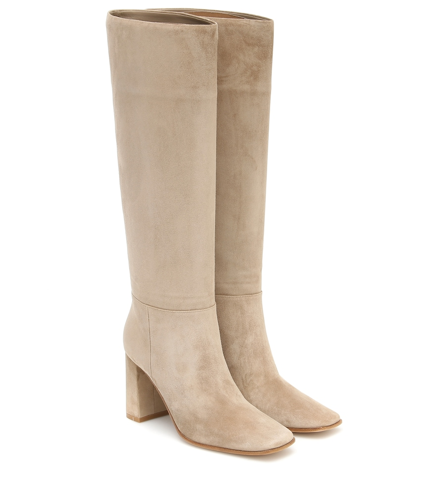 Hynde 85 suede knee-high boots