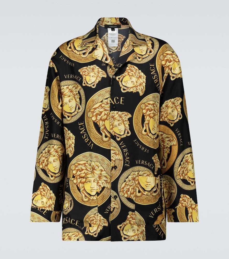 Medusa Amplified silk twill shirt