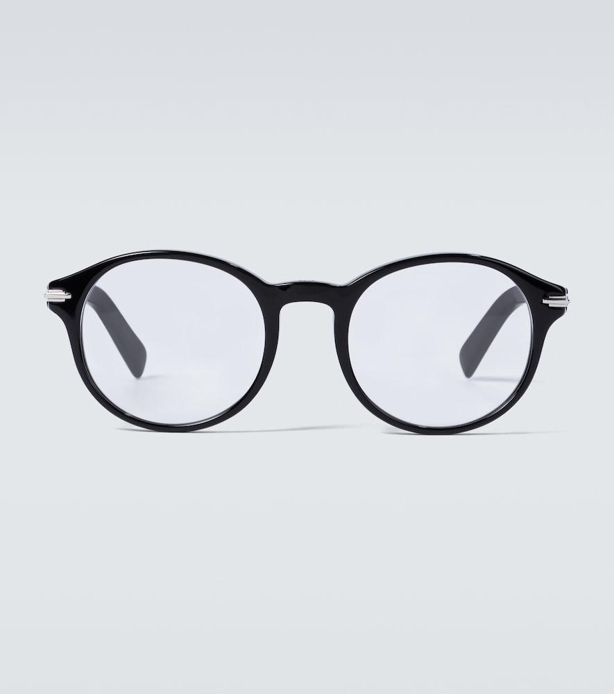 DiorBlacksuitO RI round-frame glasses