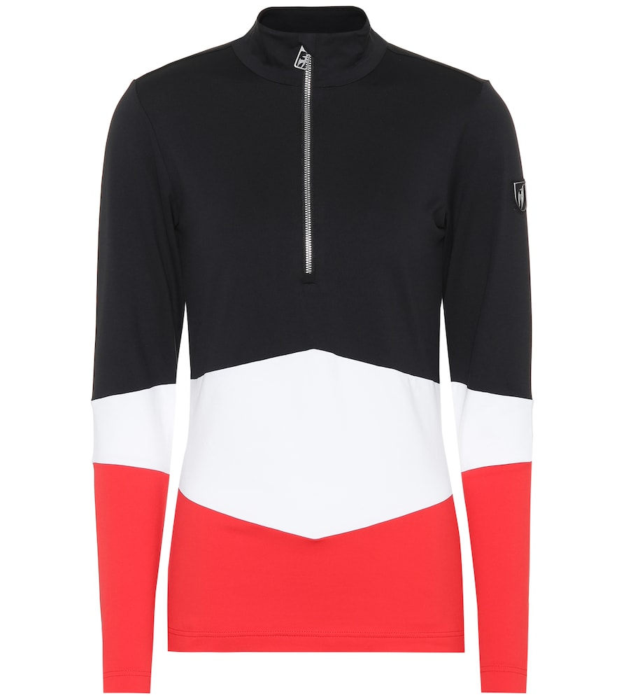 TONI SAILER Luna Jersey Ski Top in Multicoloured