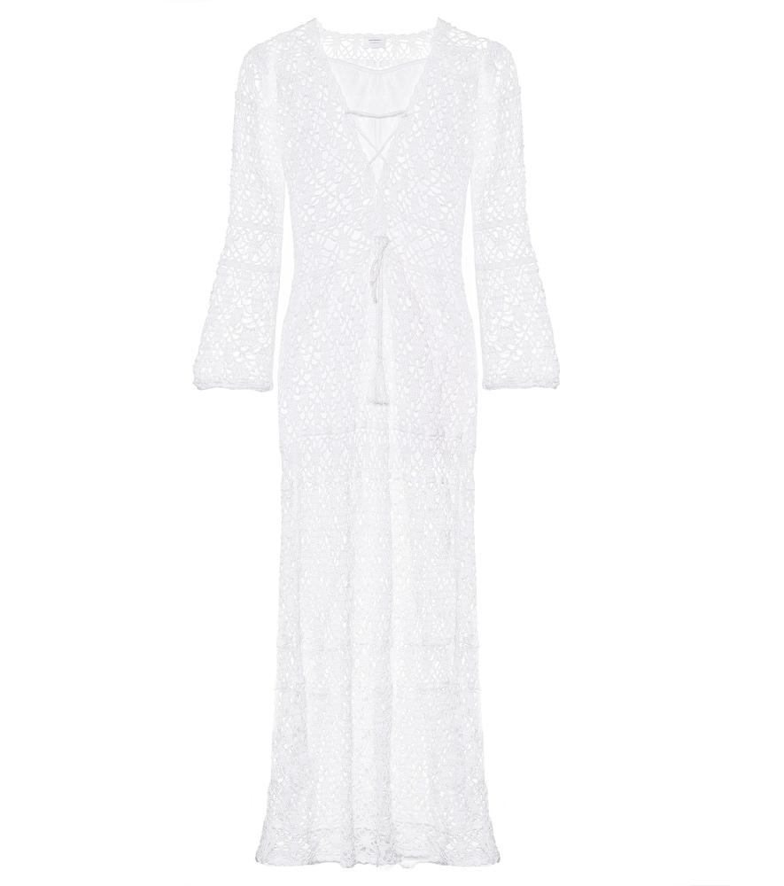 Robe longue Bianca en crochet
