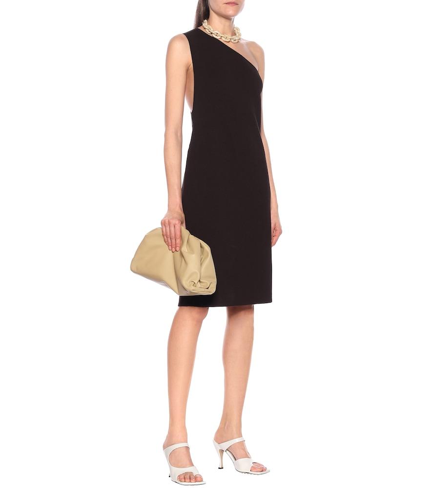 One-shoulder dress by Bottega Veneta