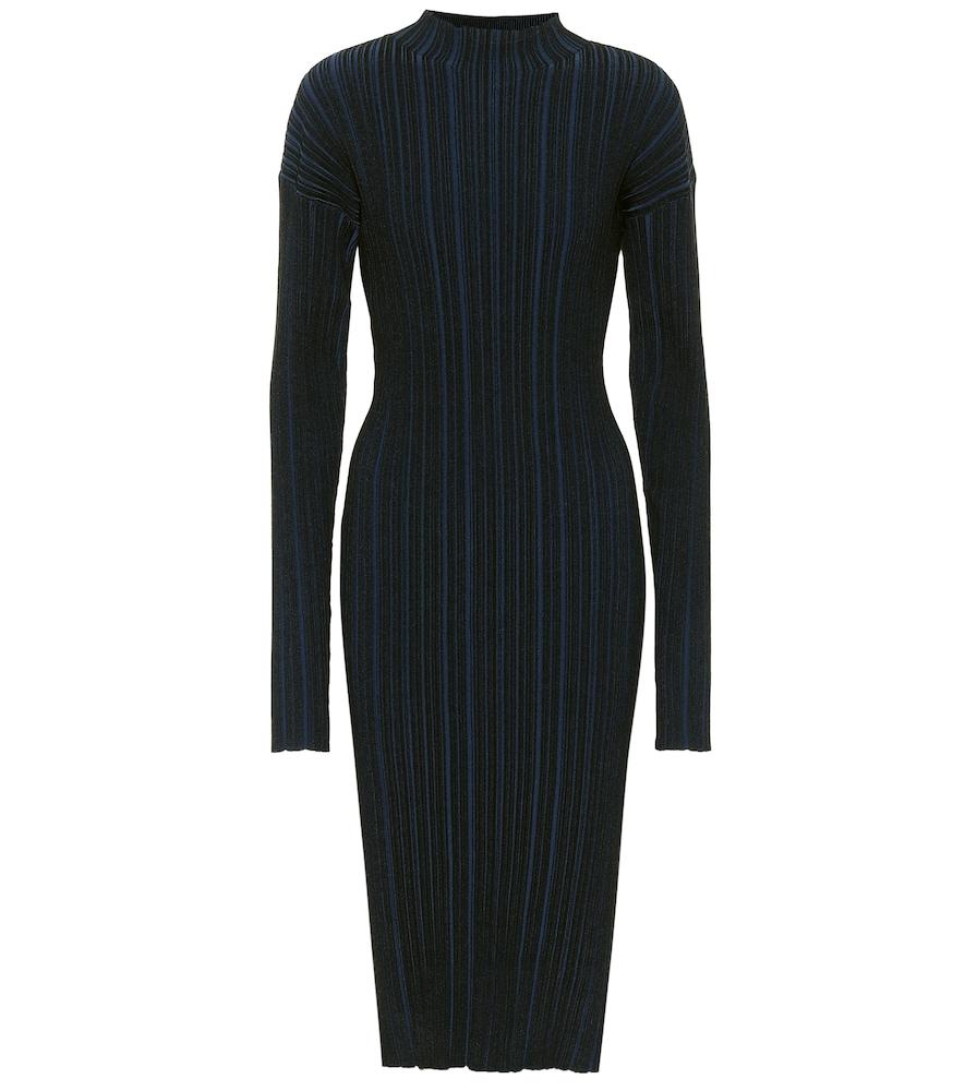 Ribbed cotton-blend midi dress by Acne Studios
