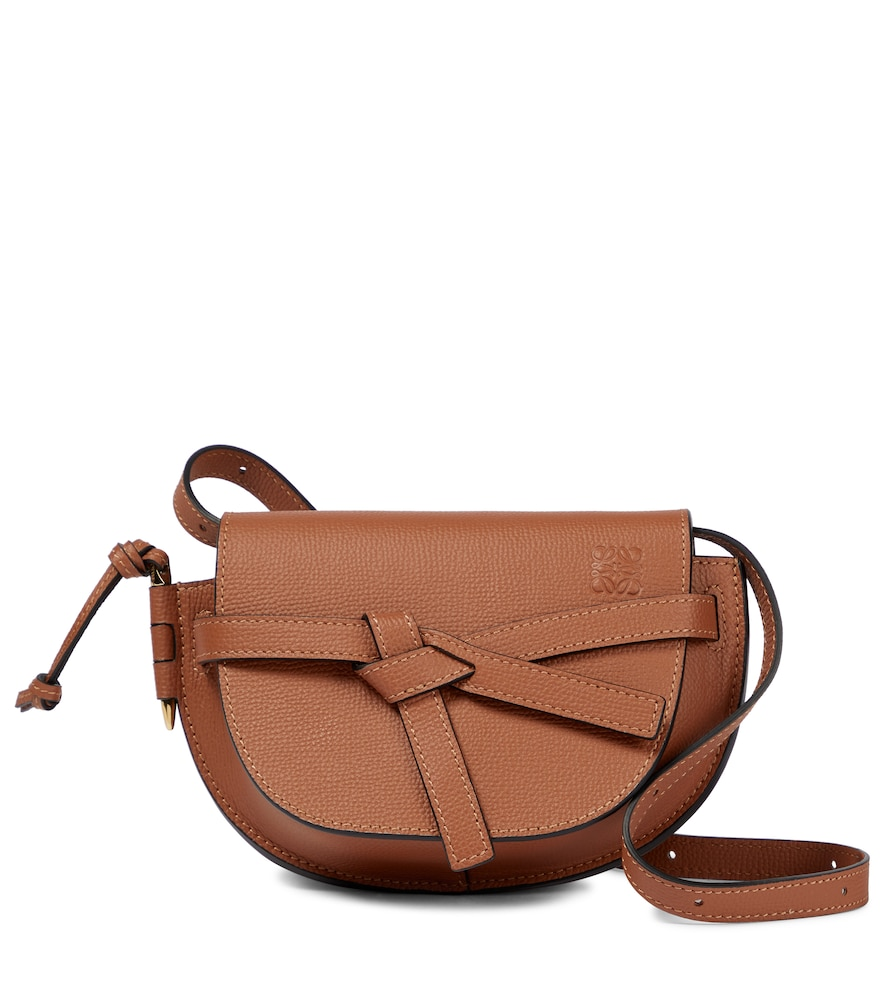 Gate Mini leather crossbody bag