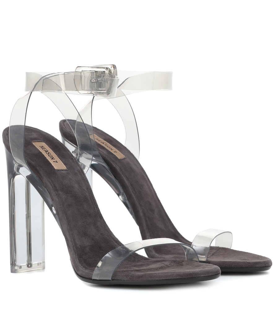 Transparent Sandals (Season 7) in Neutrals
