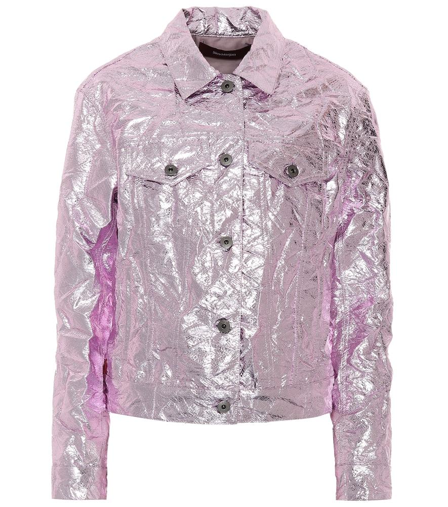 Alby metallic jacket by Sies Marjan