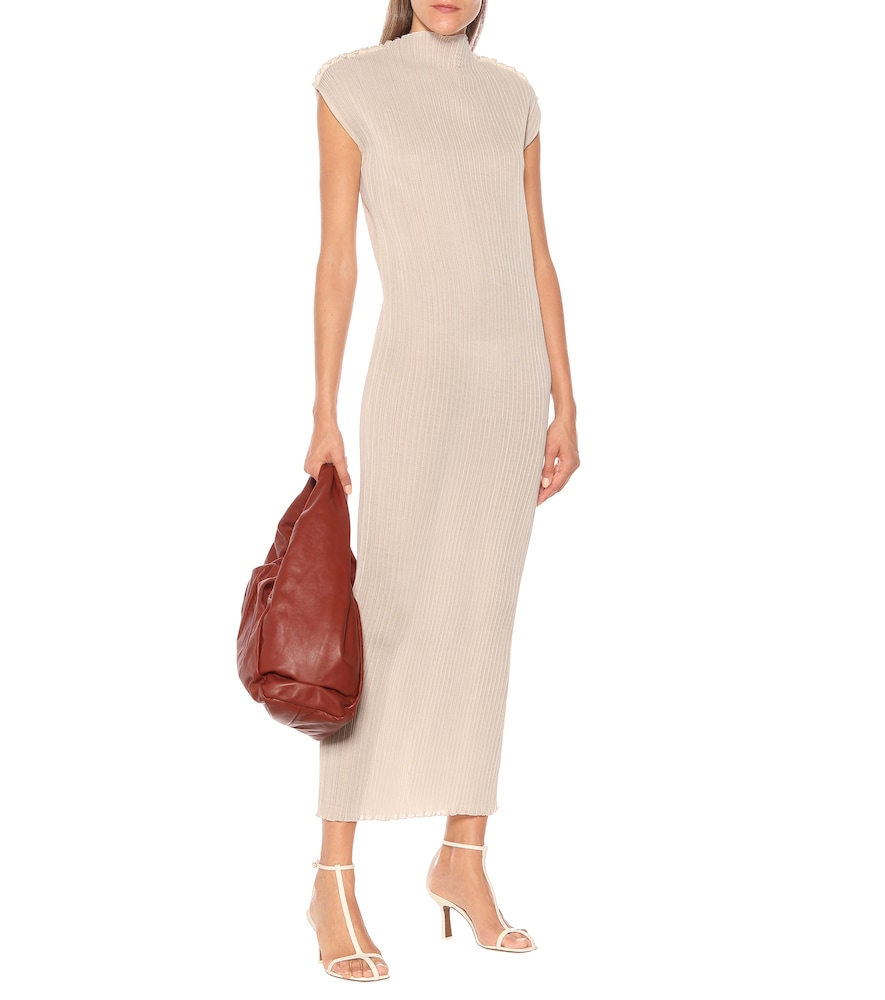 Ribbed jersey maxi dress by Jil Sander