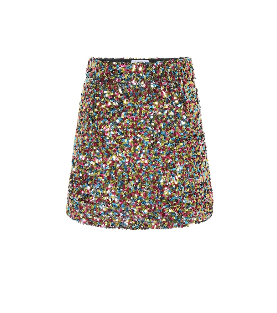 Mini-jupe à sequins