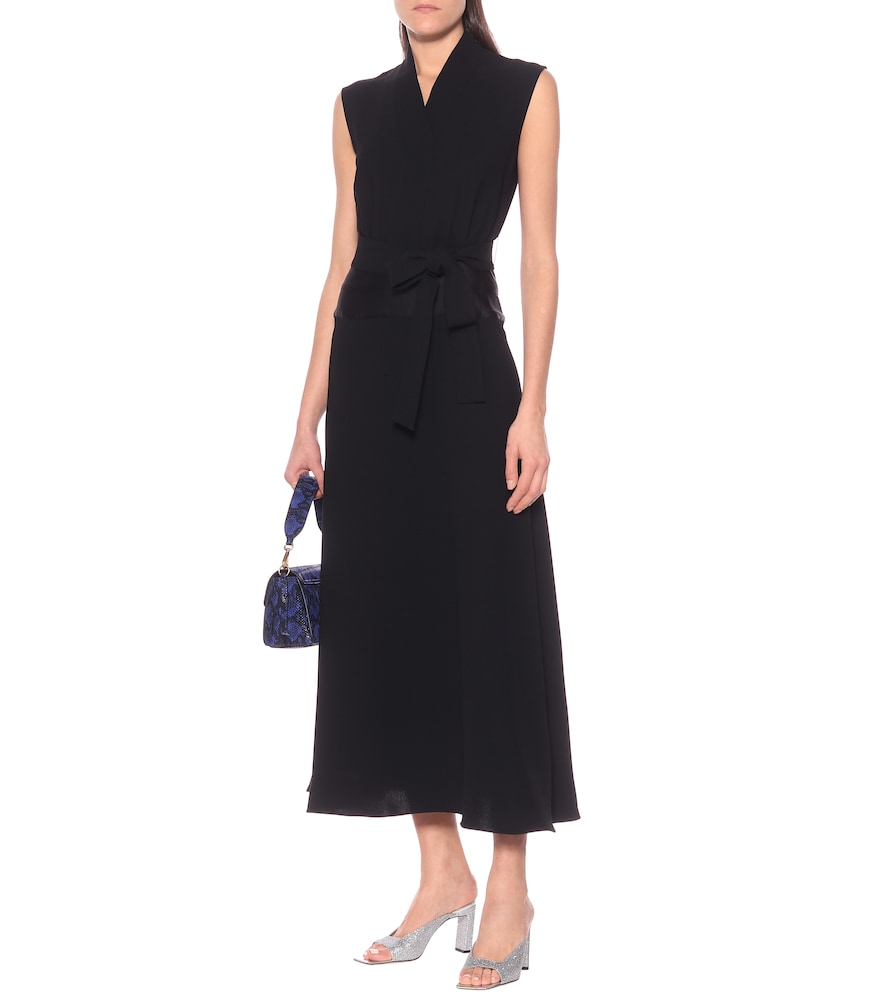 Tie-waist maxi dress by Victoria Victoria Beckham