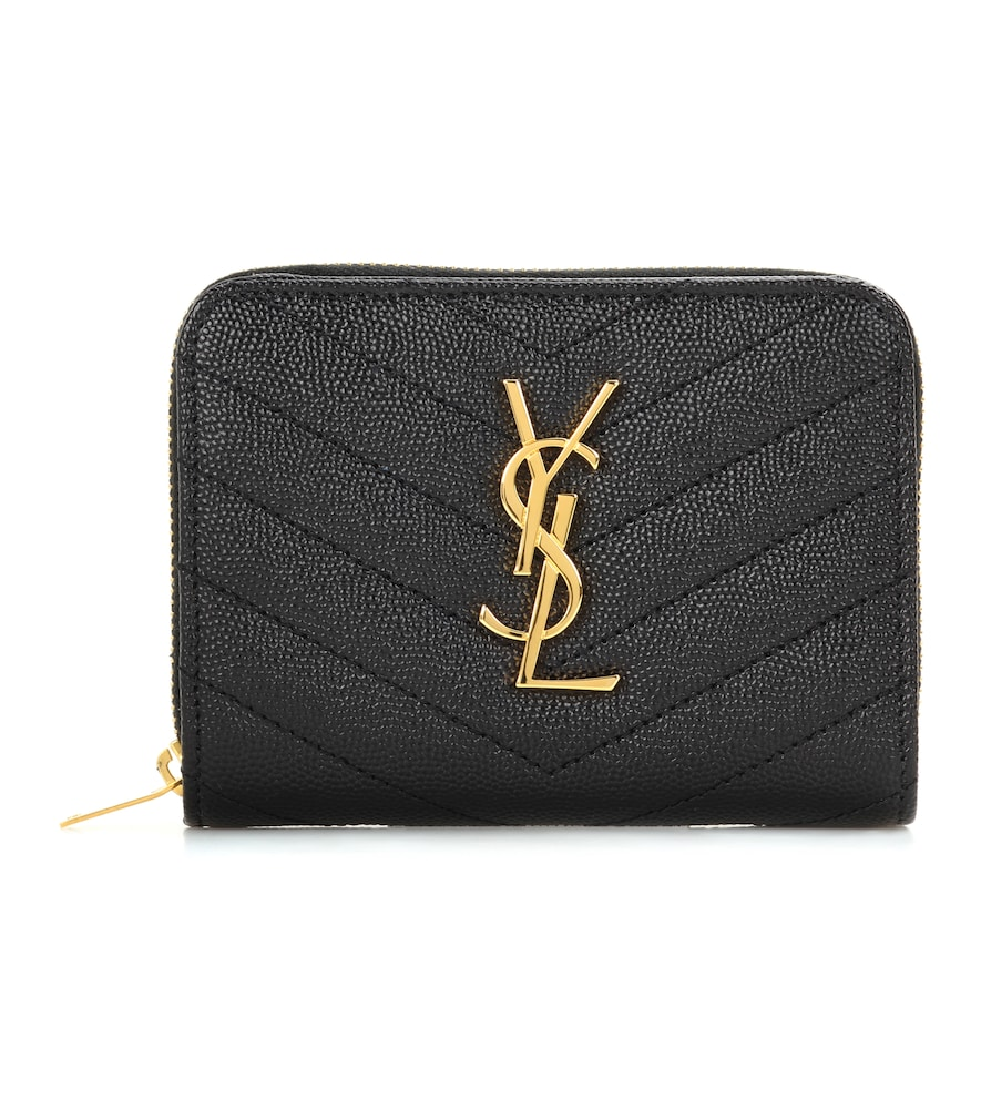 Monogram Compact leather wallet