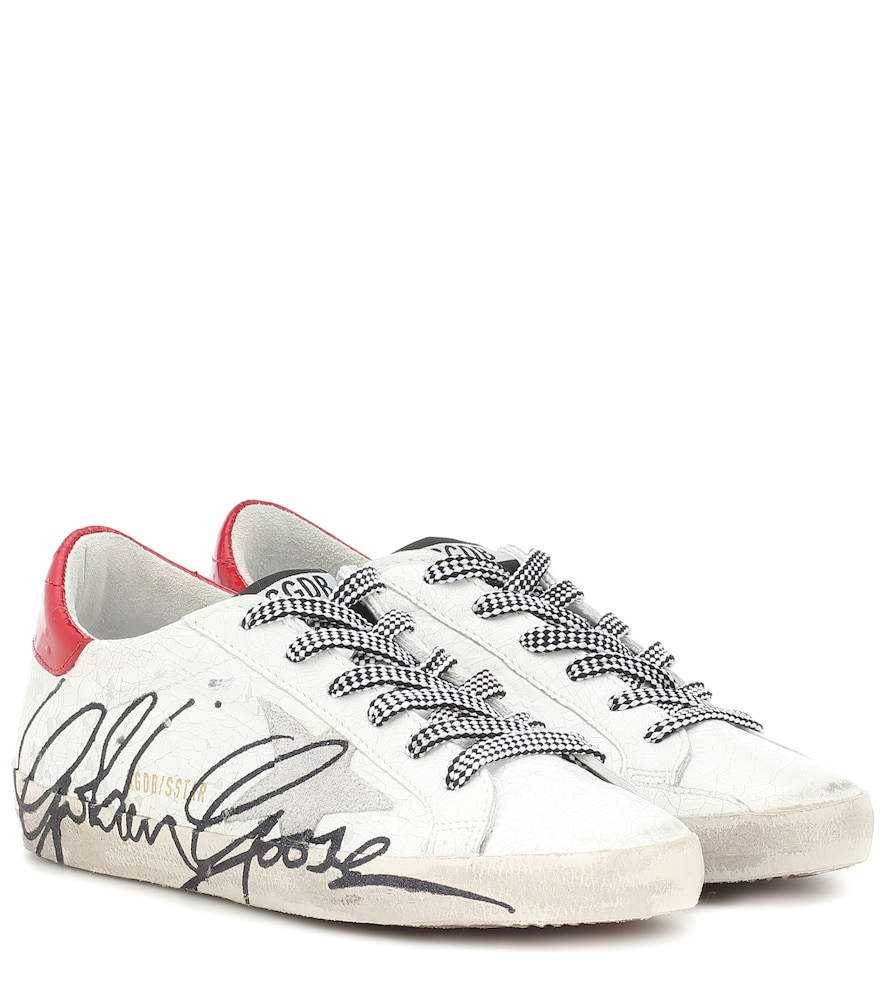 Superstar patent leather sneakers