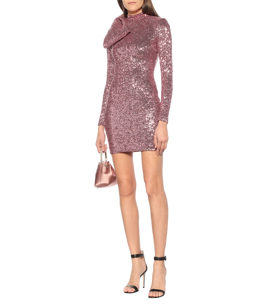 Mona sequined minidress by Rebecca Vallance