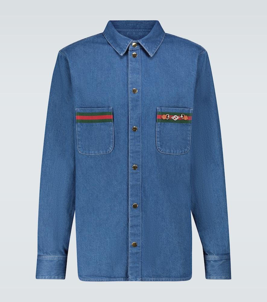 Chemise en jean - Gucci - Modalova