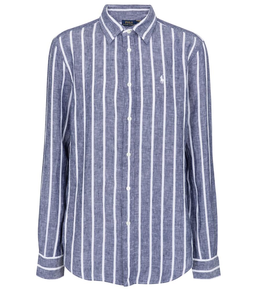 Polo Ralph Lauren Linens STRIPED LINEN SHIRT