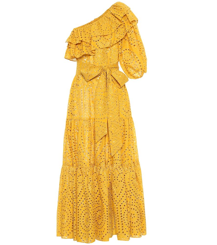 LISA MARIE FERNANDEZ | Arden Eyelet Cotton Maxi Dress | Goxip