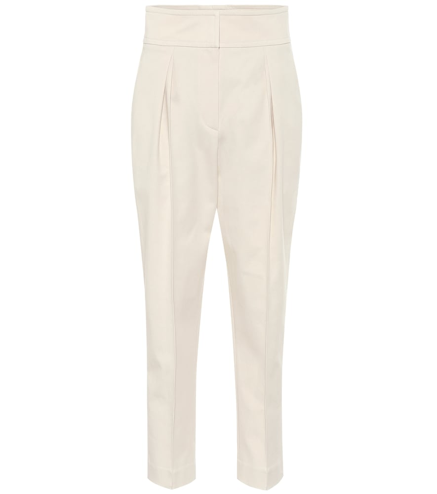 Pantalon en coton et laine mélangés - Brunello Cucinelli - Modalova