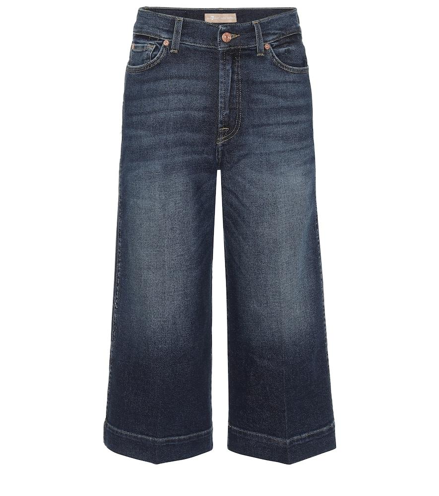 Jupe-culotte en jean - 7 For All Mankind - Modalova