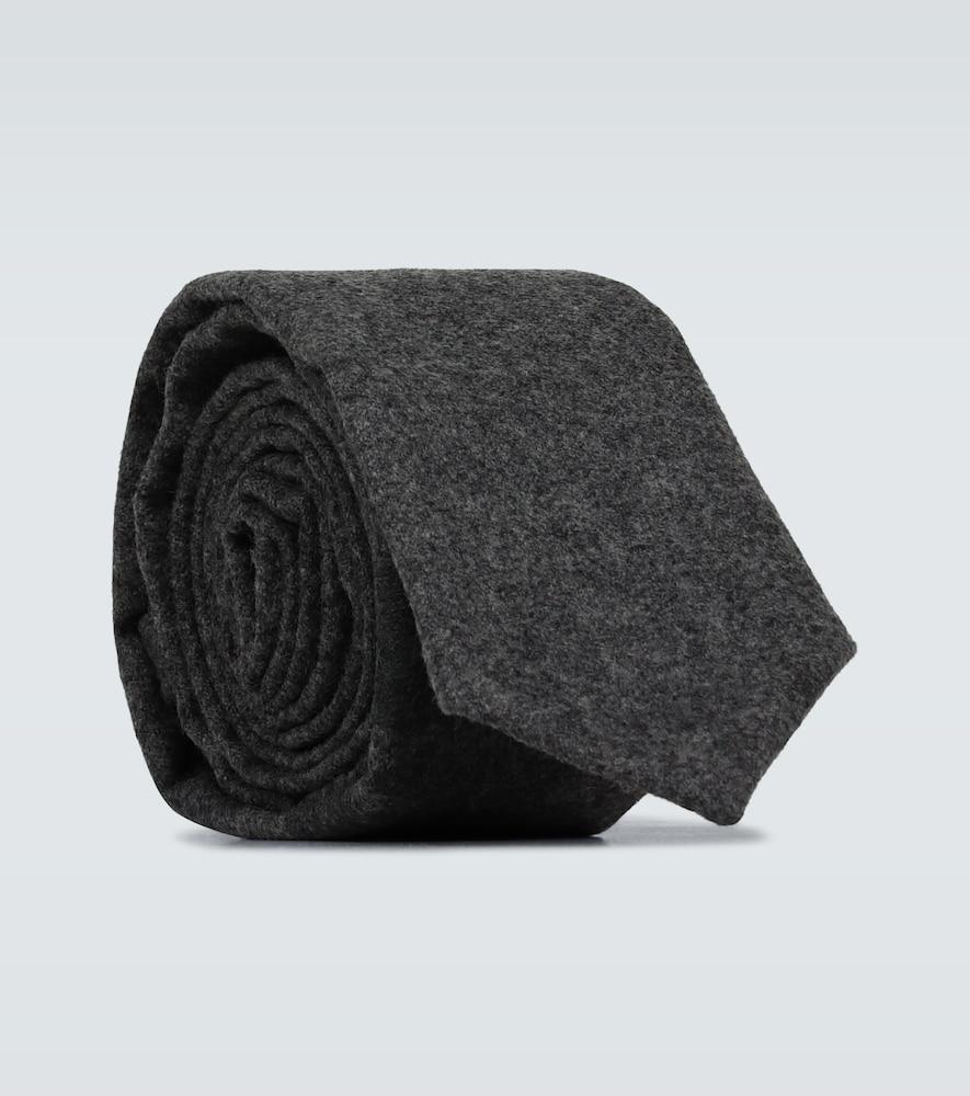 Cravate en laine et cachemire - Thom Browne - Modalova