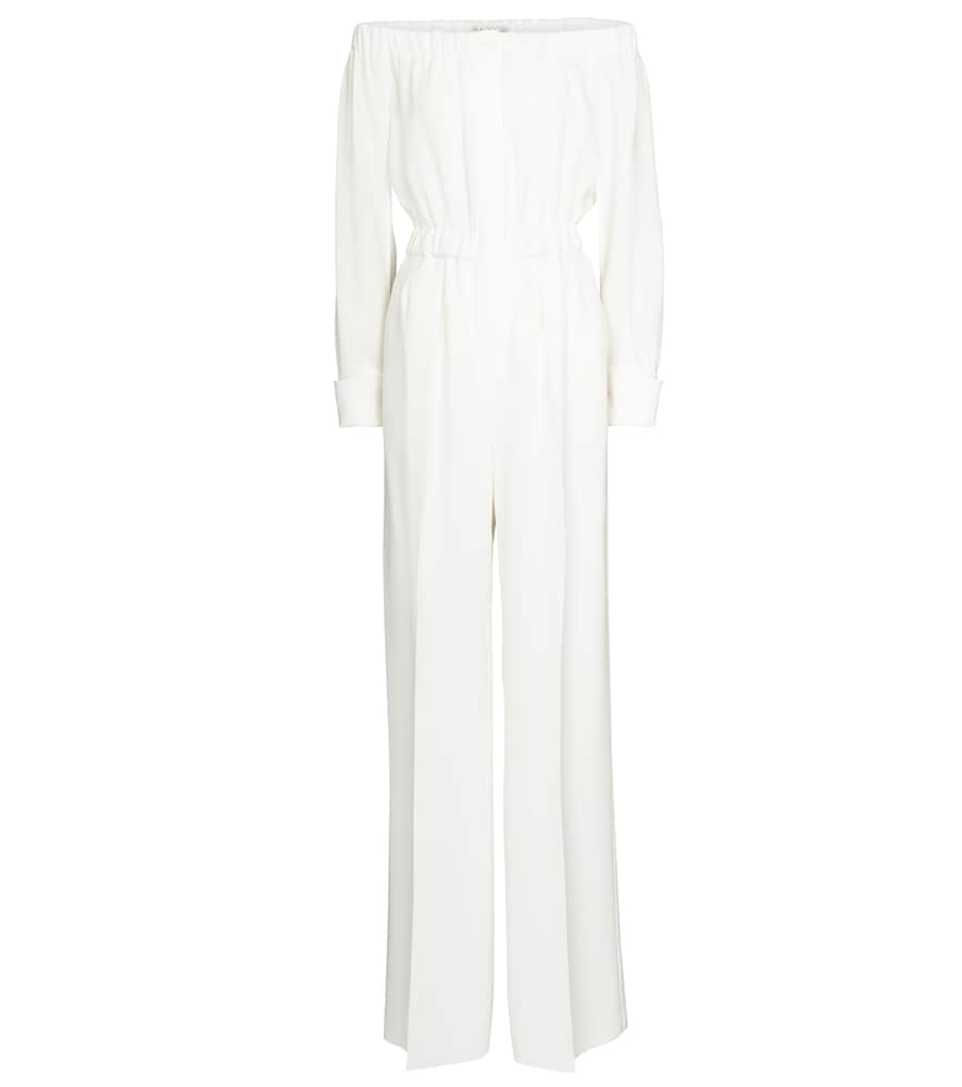 Max Mara ASIAGO OFF-SHOULDER CADY JUMPSUIT
