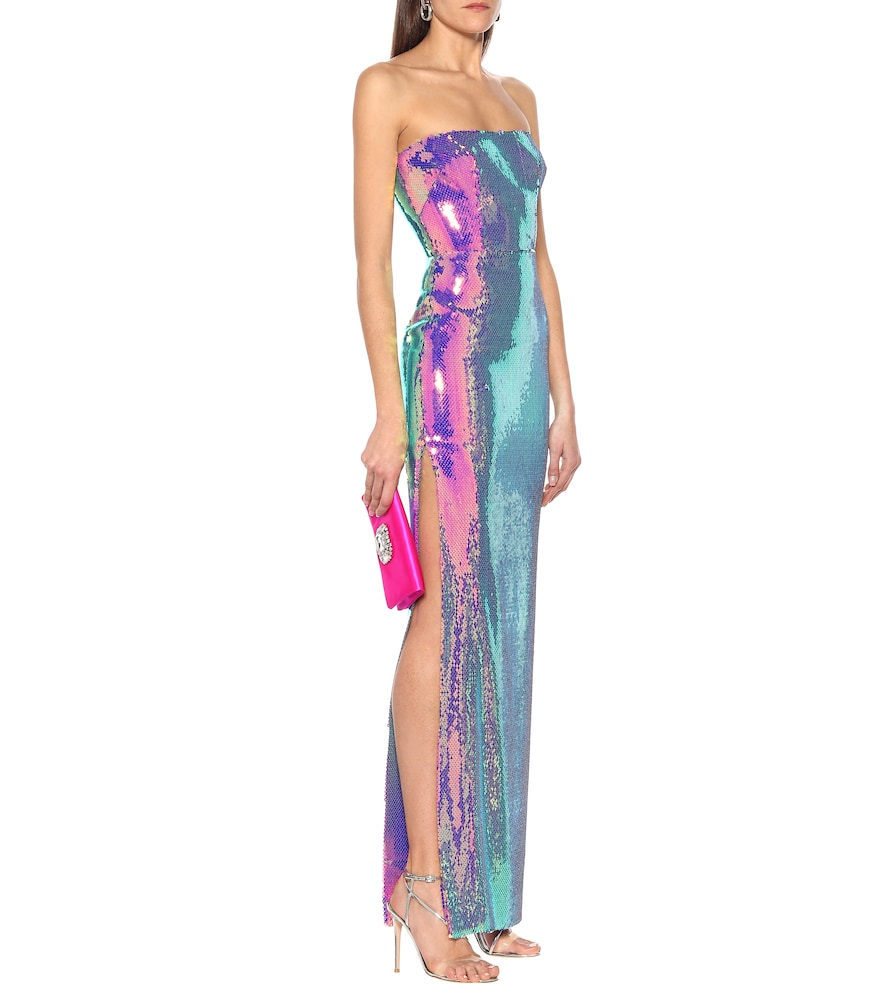 Exclusive to Mytheresa - Morgan sequined gown by Alex Perry