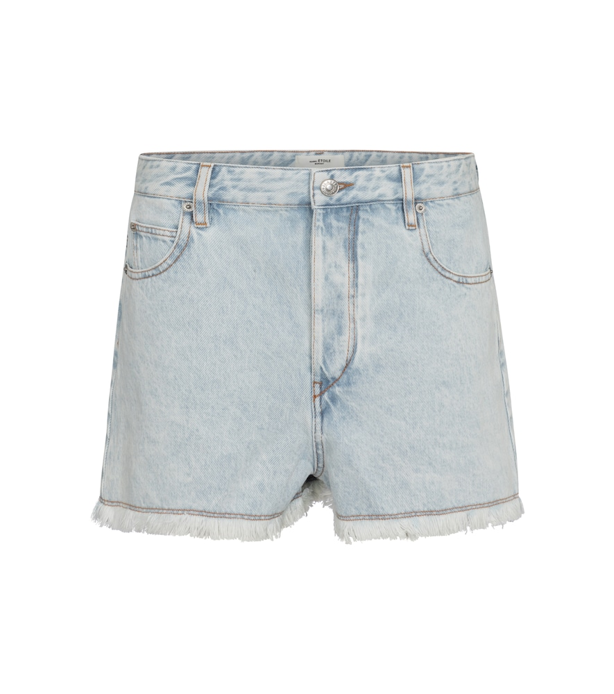 Isabel Marant Étoile LESIASR HIGH-RISE DENIM SHORTS